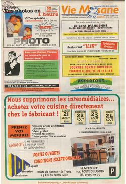 53e année - n°29 - 18 aout 1999