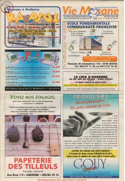 53e année - n°30 - 25 aout 1999