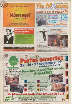 53e année - n°34 - 22 septembre 1999