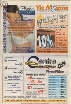 53e année - n°40 - 3 novembre 1999
