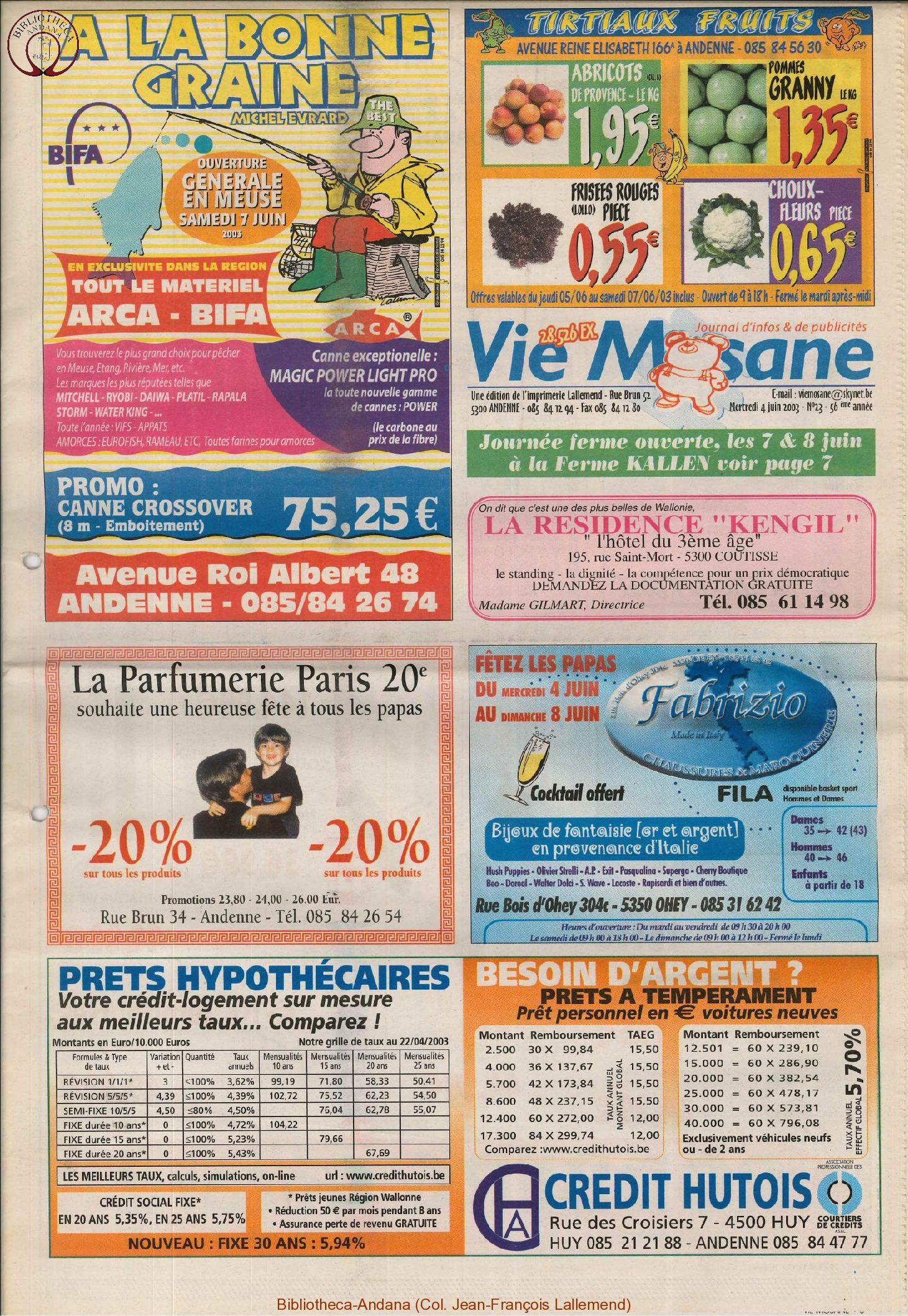 57e année - n°23 - 4 juin 2003