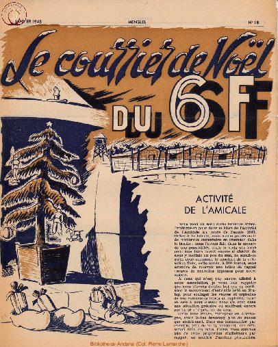 Le courrier du 6 F N°18 - janvier 1948