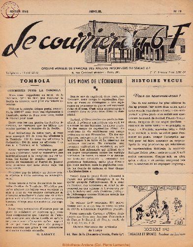 Le courrier du 6 F N°19 - février 1948