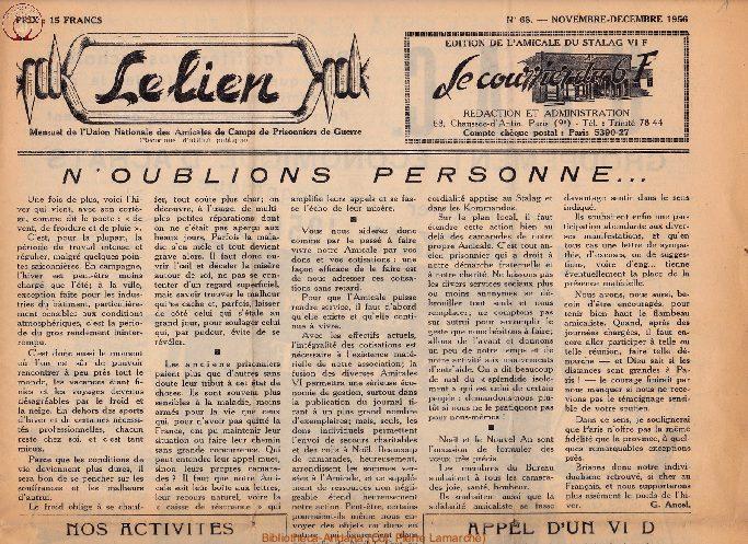 Le courrier du 6 F N°68 - novembre-décembre 1956