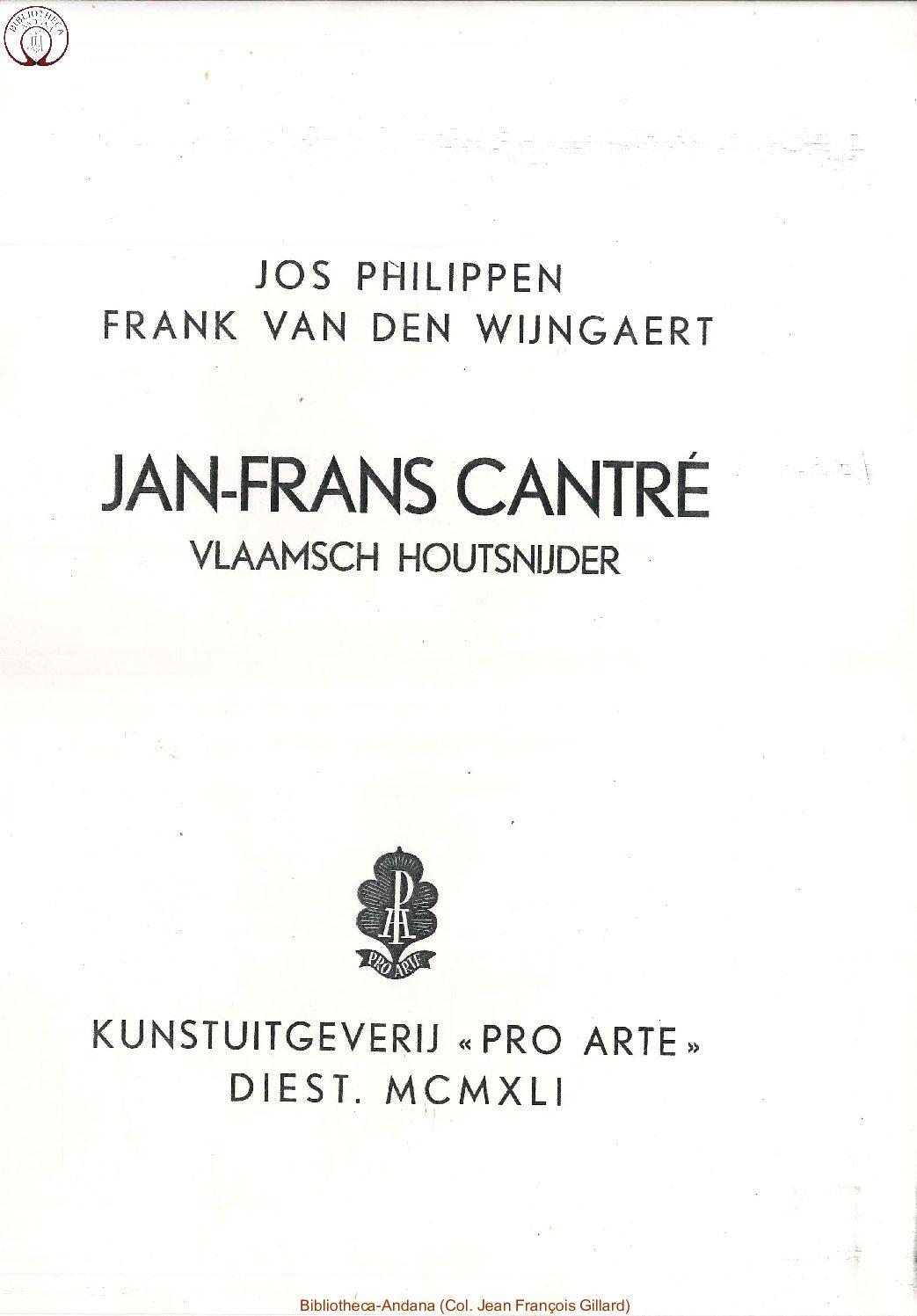 Jan Frans Cantré