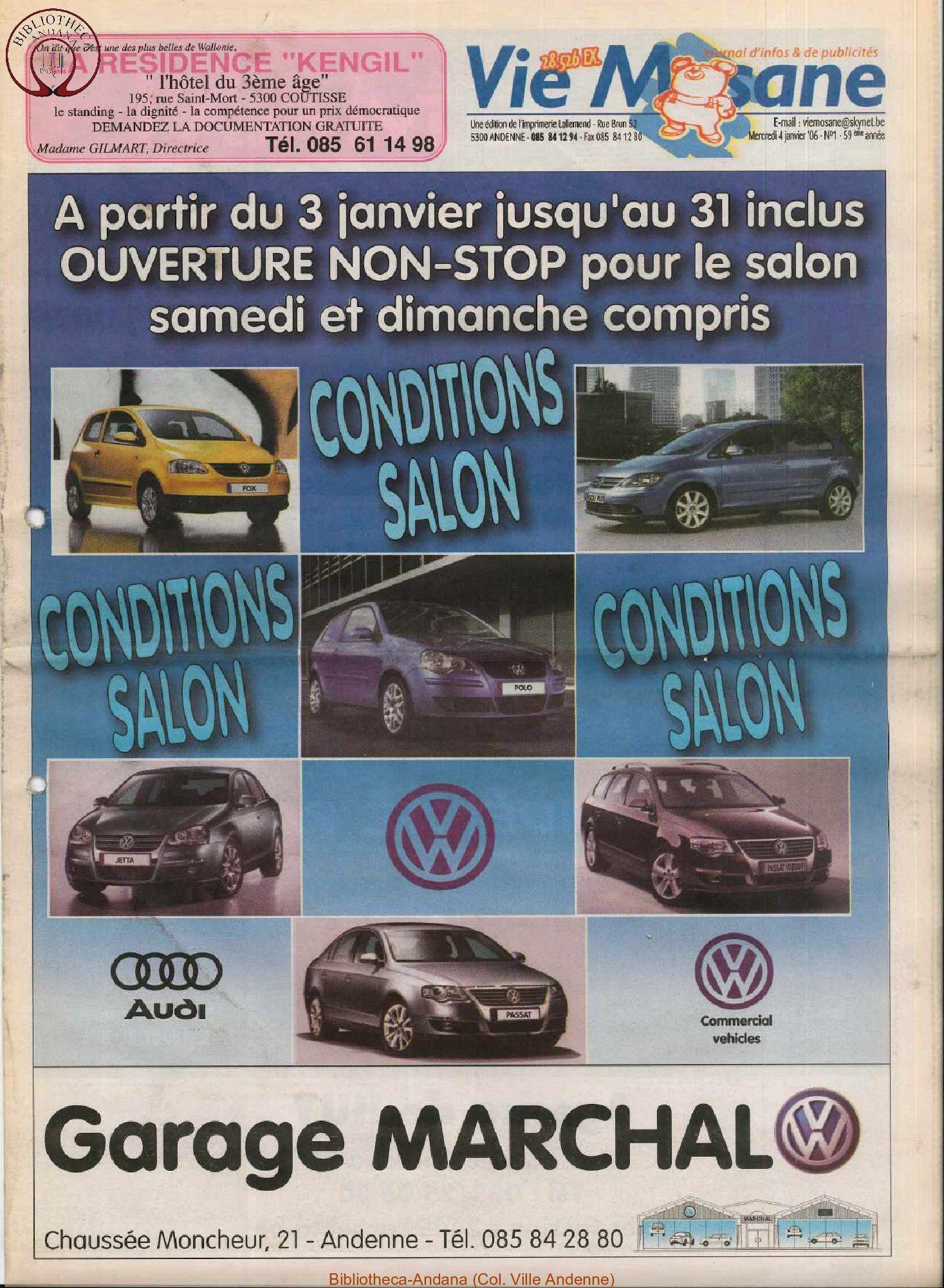 59e année - n°1 - 4 janvier 2006