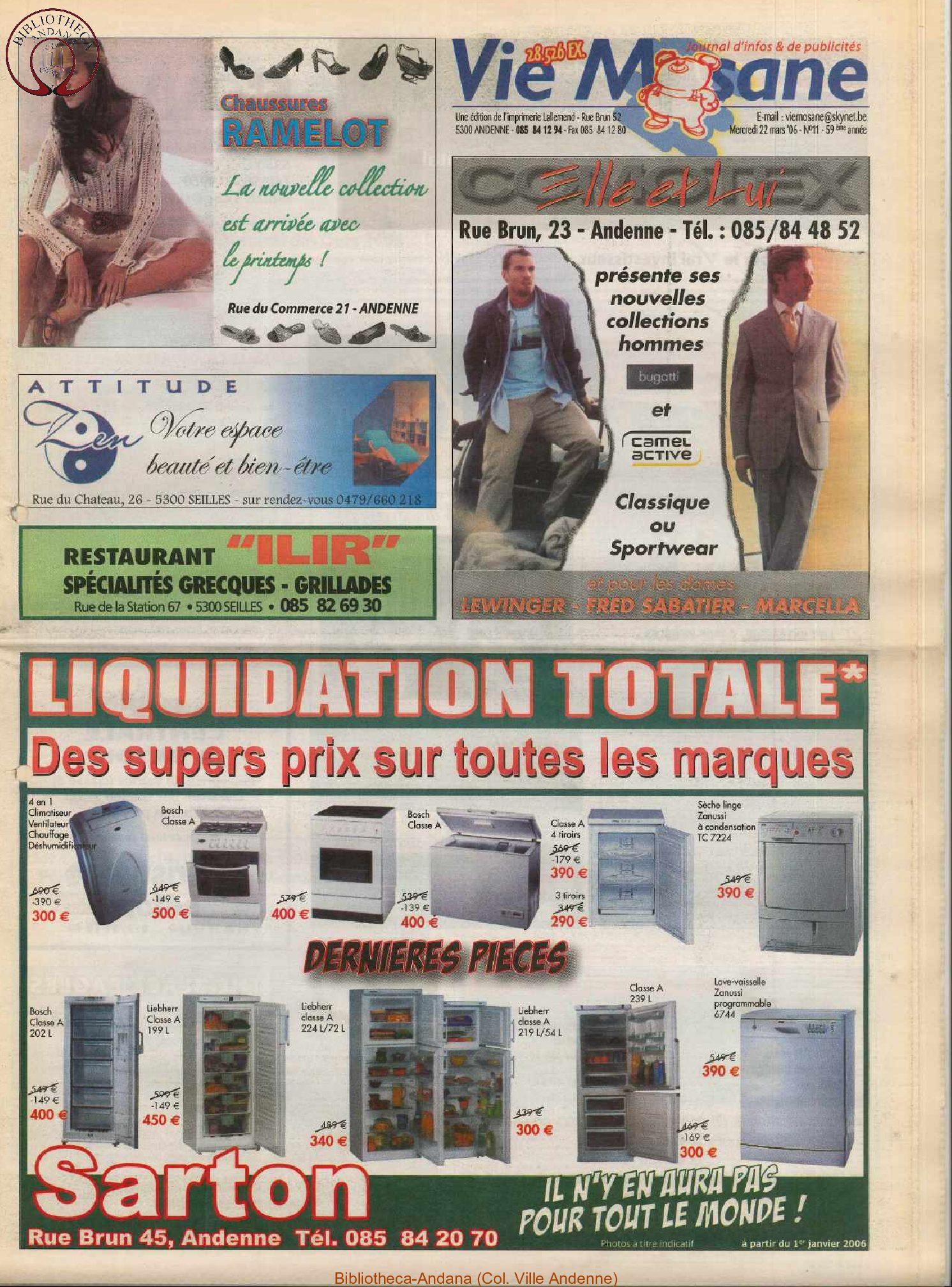 59e année - n°11 - 22 mars 2006