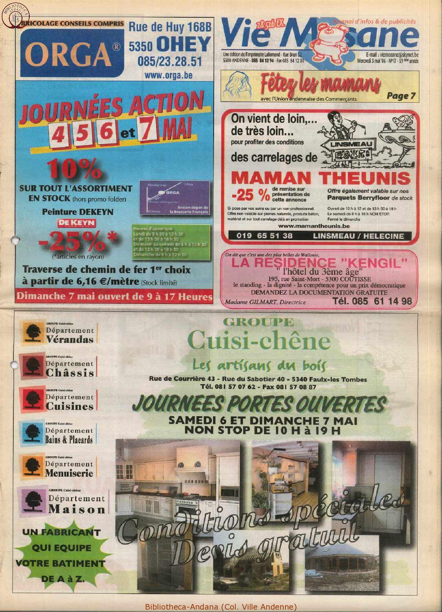 59e année - n°17 - 3 mai 2006