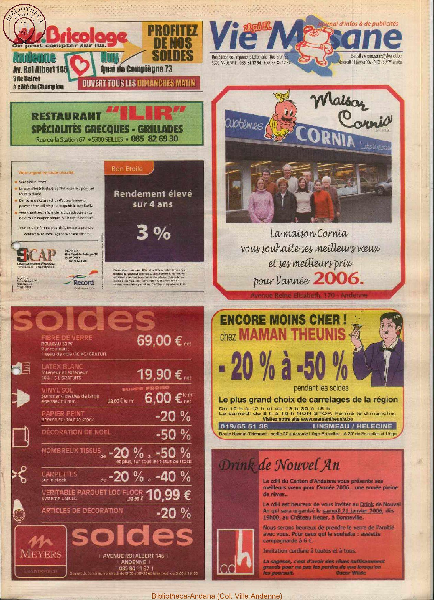 59e année - n°2 - 11 janvier 2006