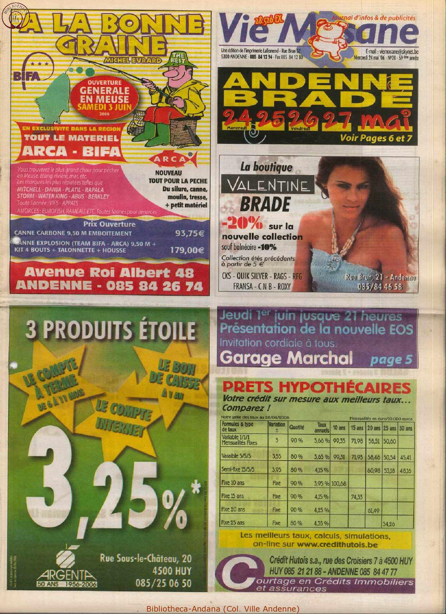 59e année - n°20 - 24 mai 2006