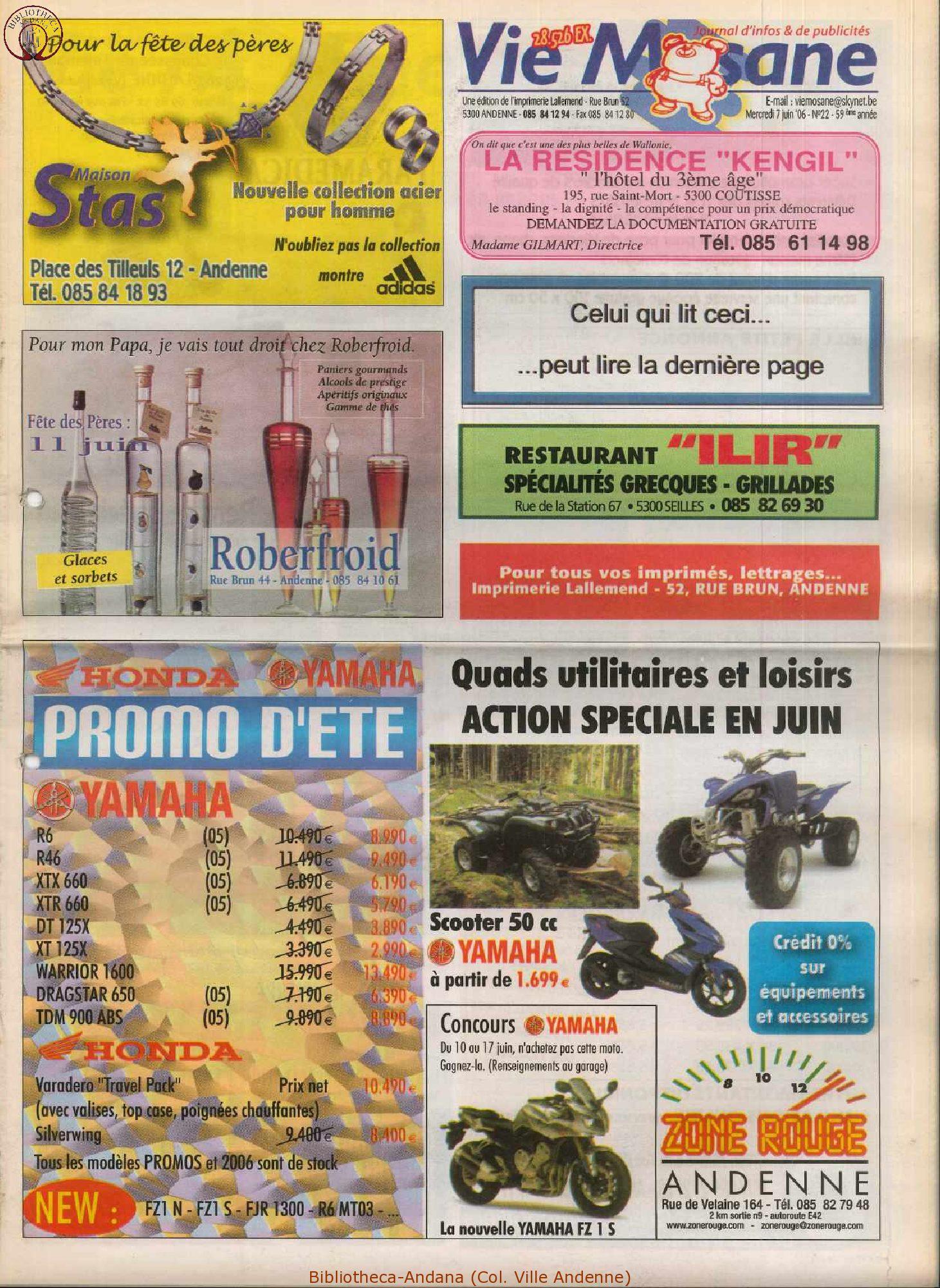 59e année - n°22 - 7 juin 2006