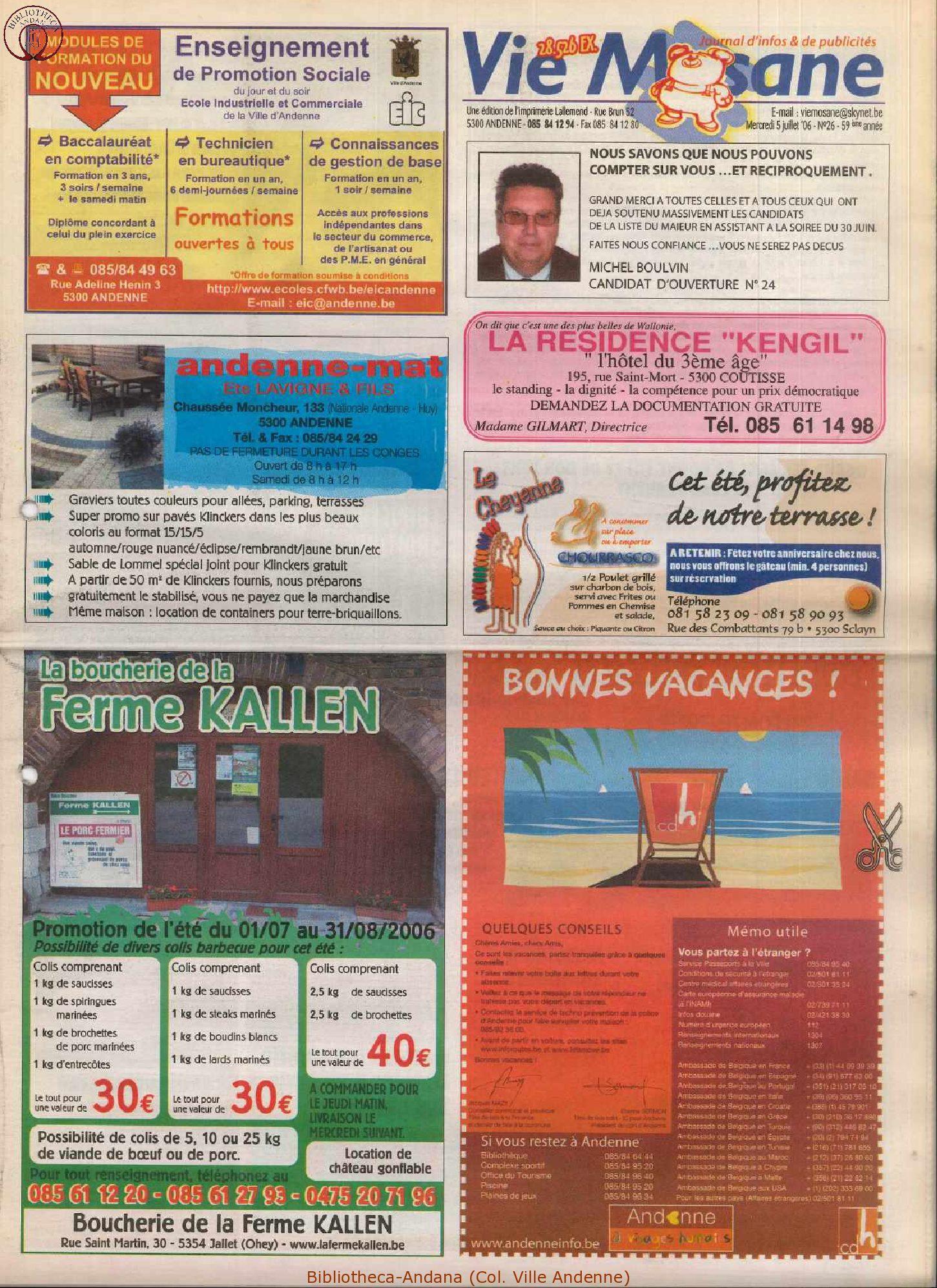 59e année - n°26 - 5 juillet 2006
