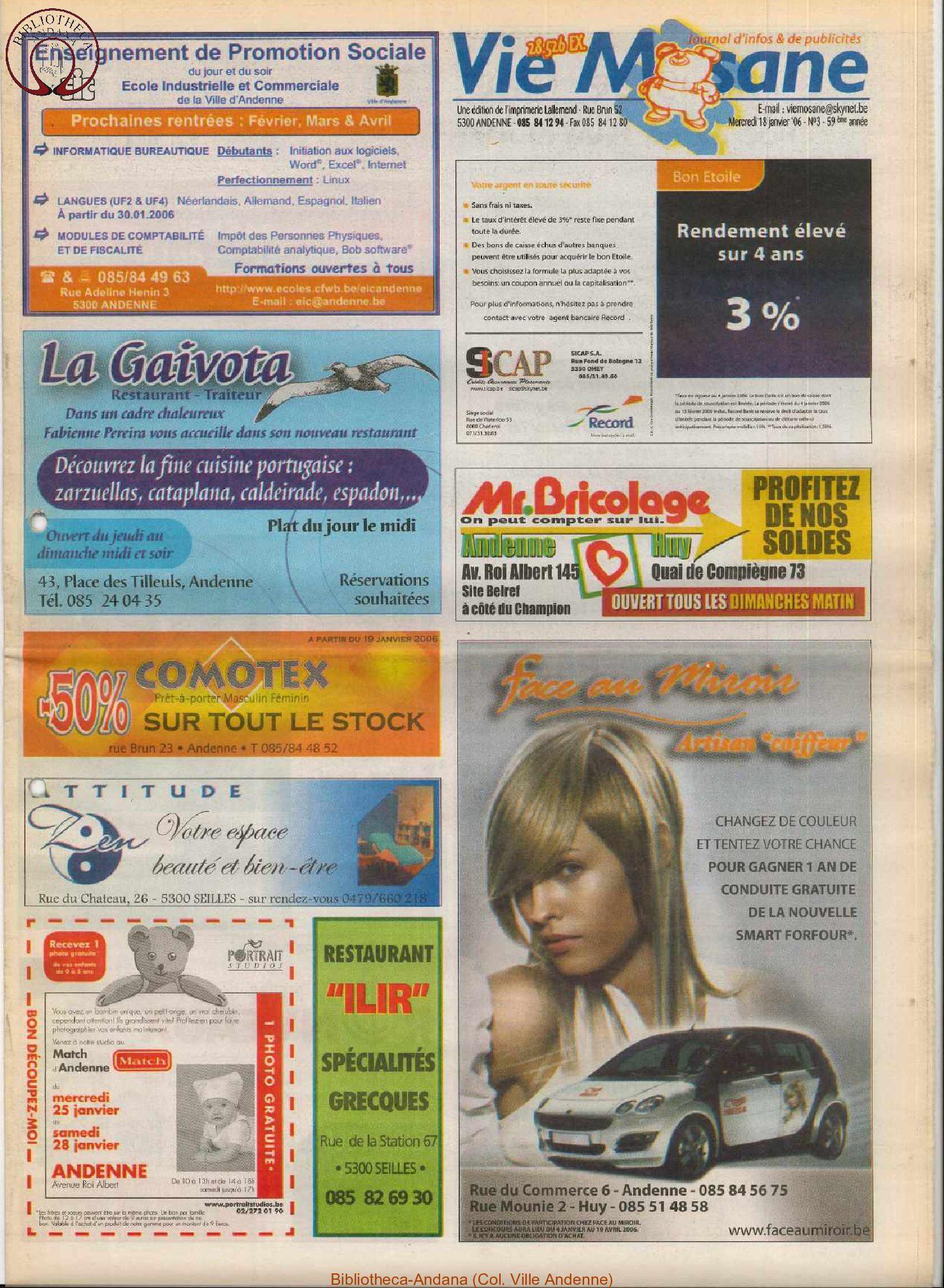 59e année - n°3 - 18 janvier 2006