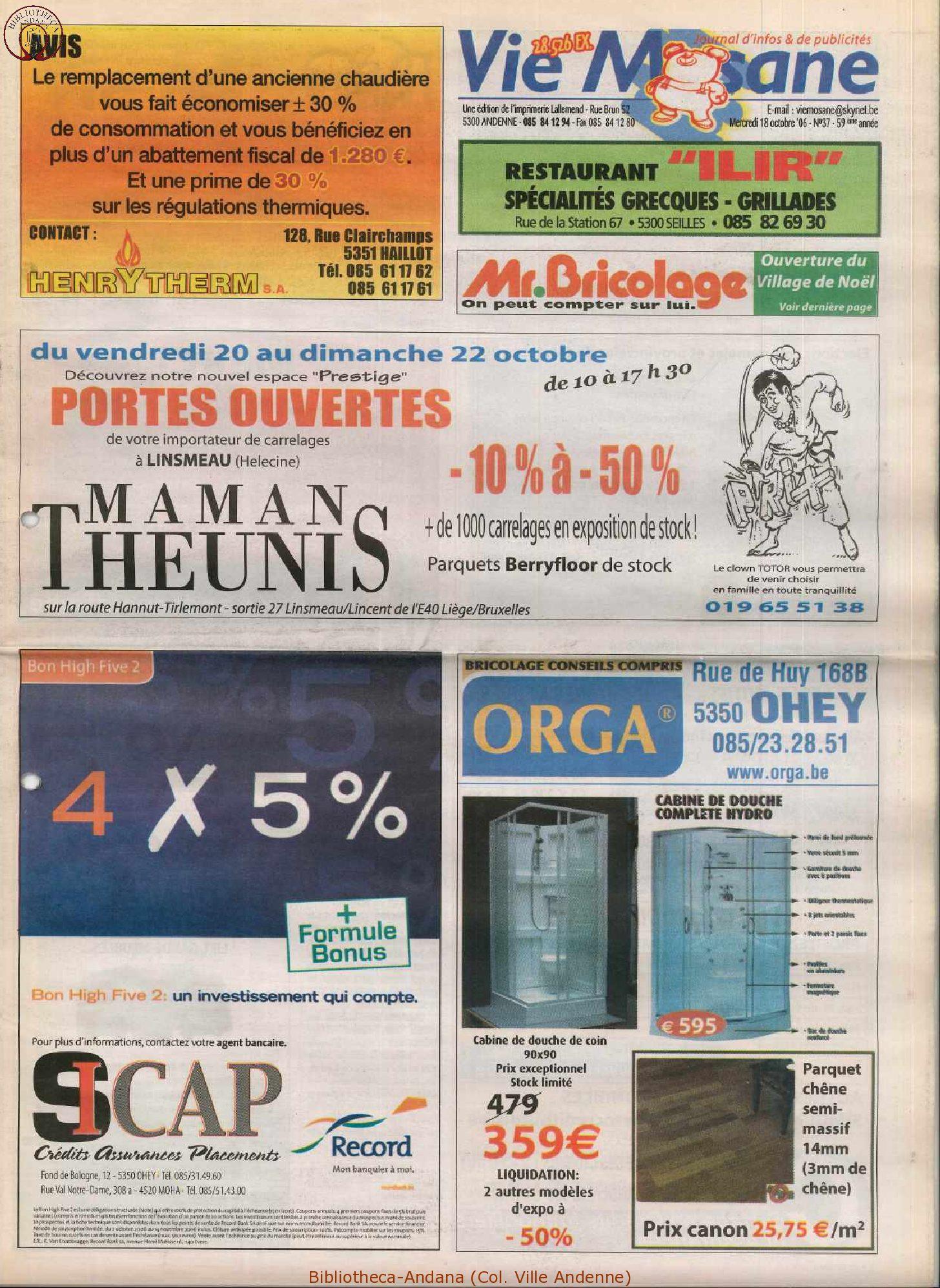59e année - n°37 - 18 octobre 2006