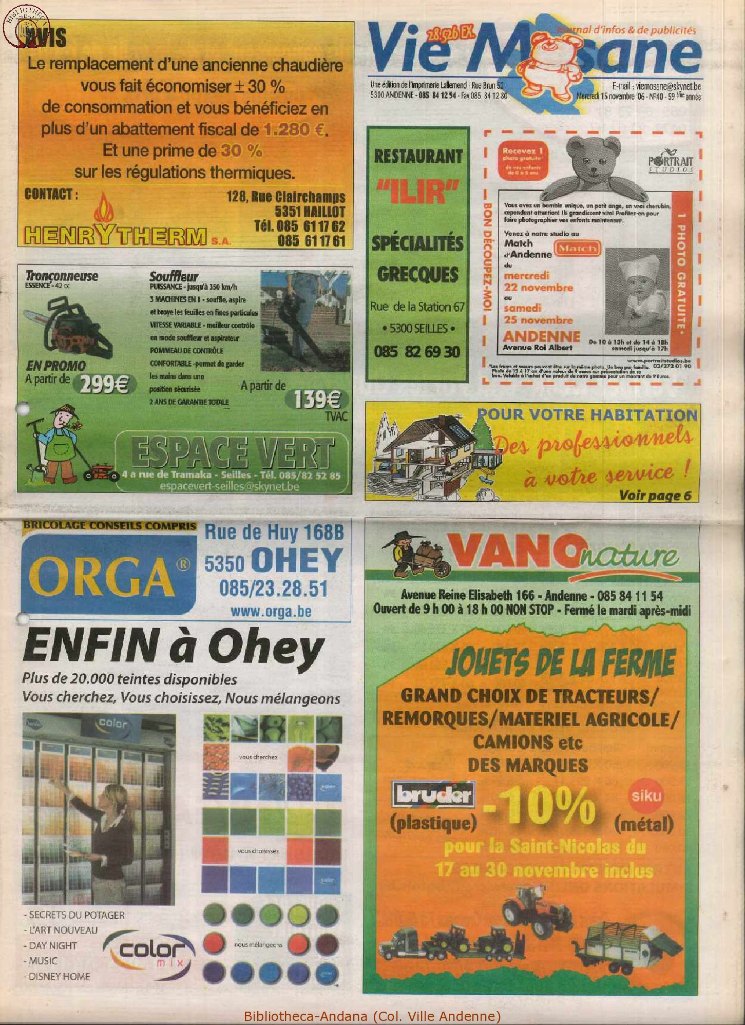 59e année - n°40 - 15 novembre 2006