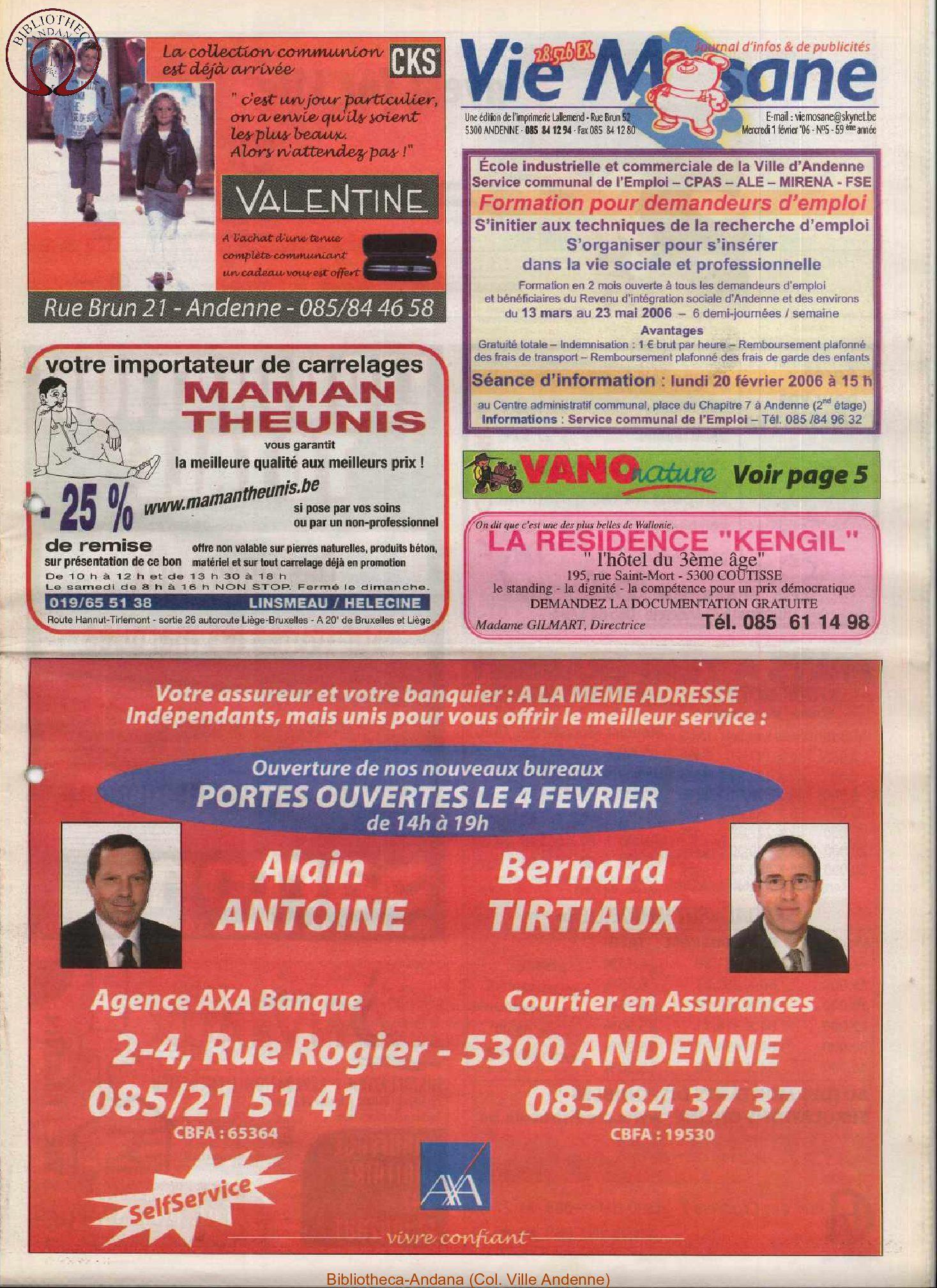 59e année - n°5 - 1er février 2006