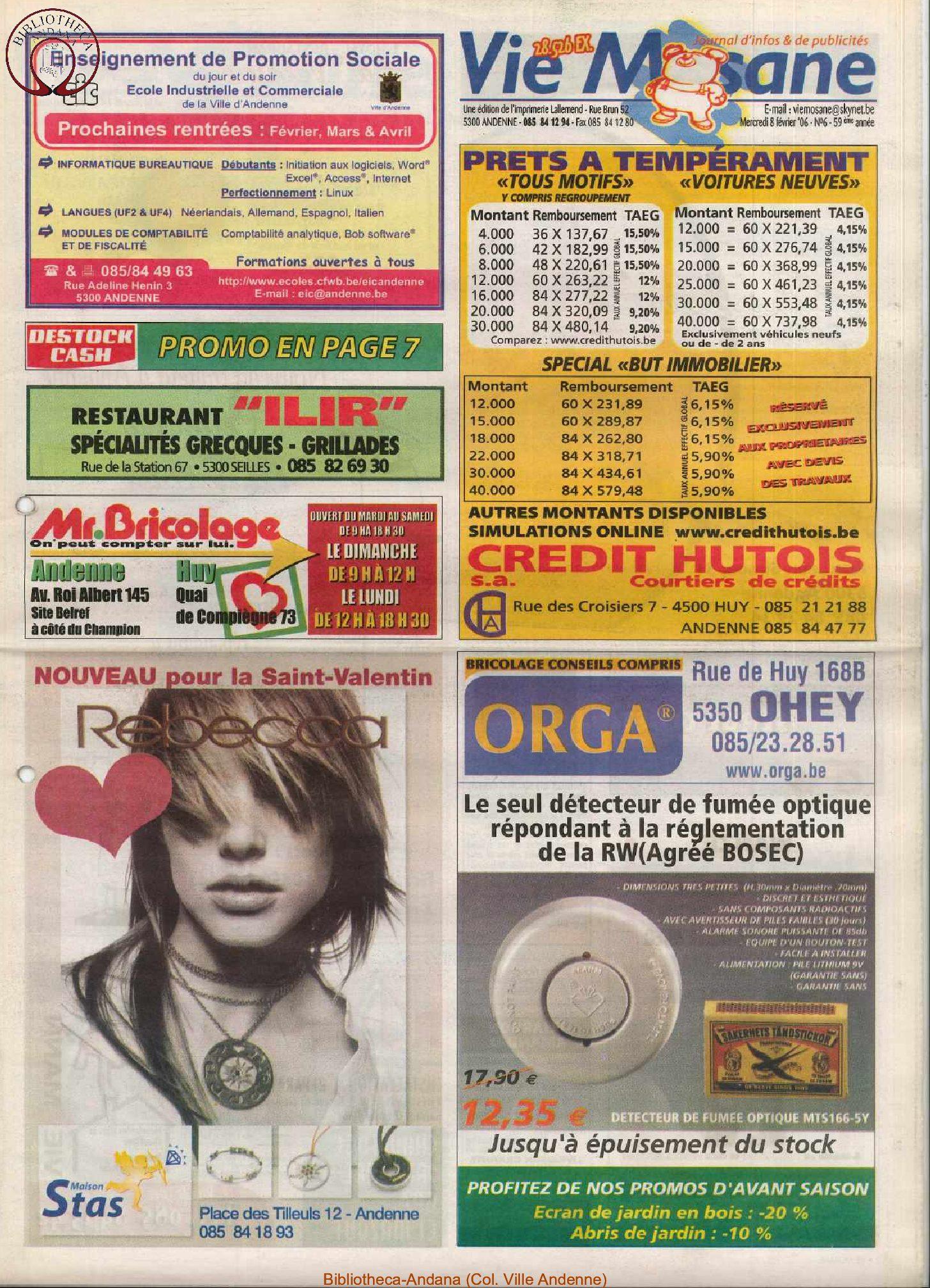 59e année - n°6 - 8 février 2006