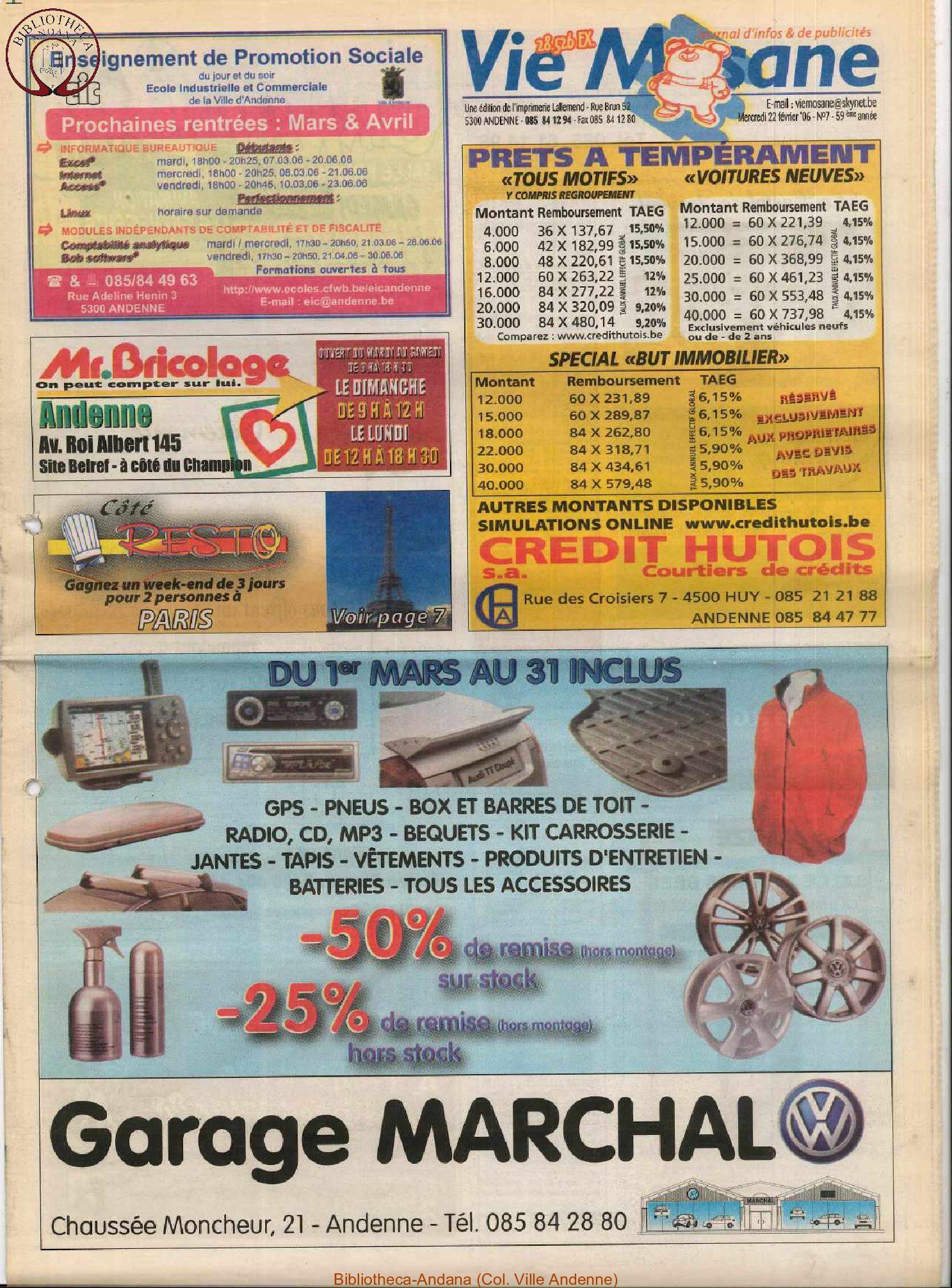 59e année - n°7 - 22 février 2006