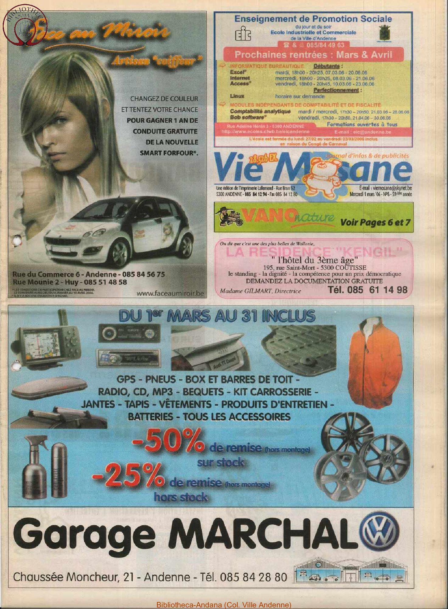 59e année - n°8 - 1er mars 2006
