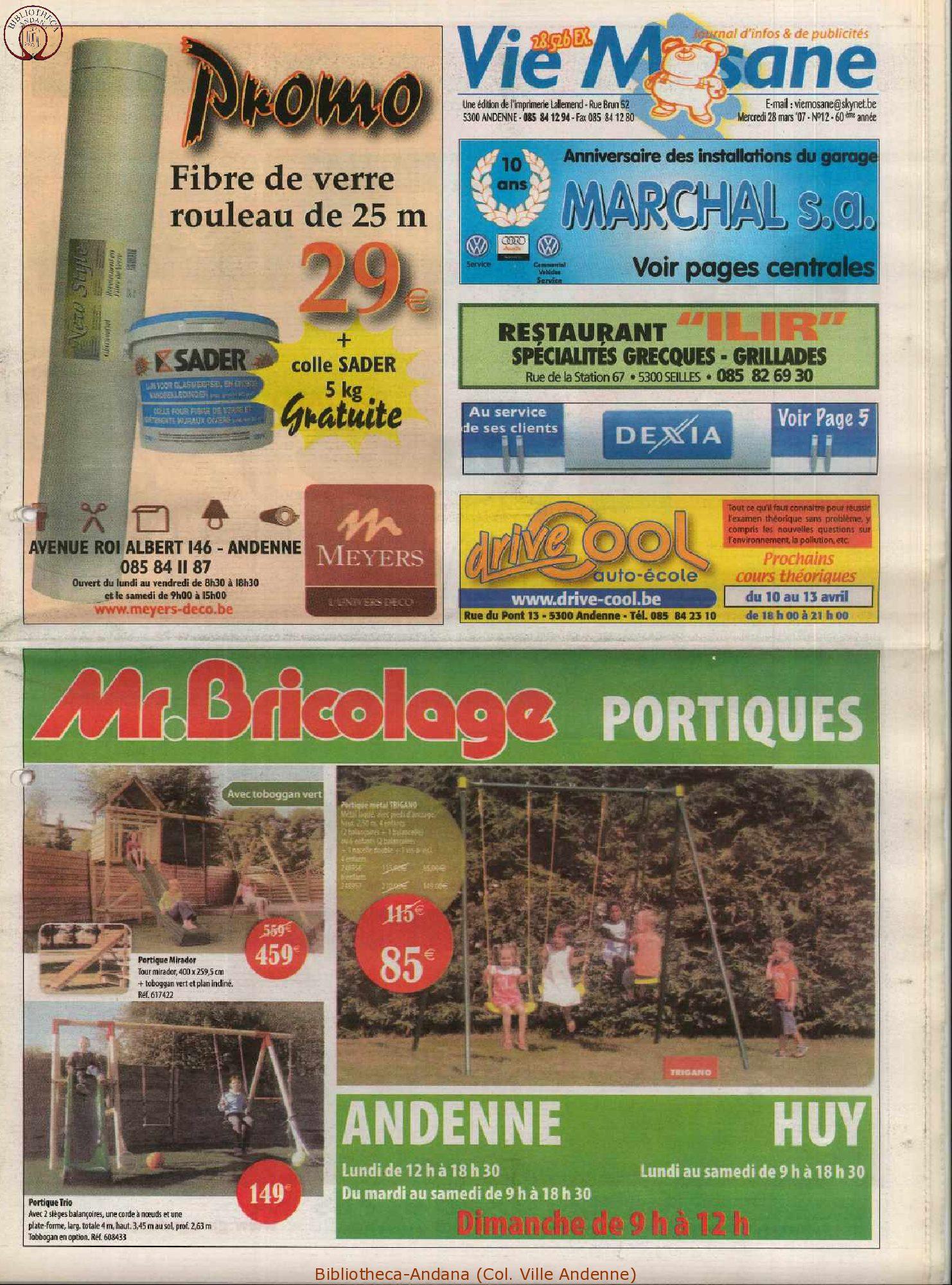 60e année - n°12 - 28 mars 2007