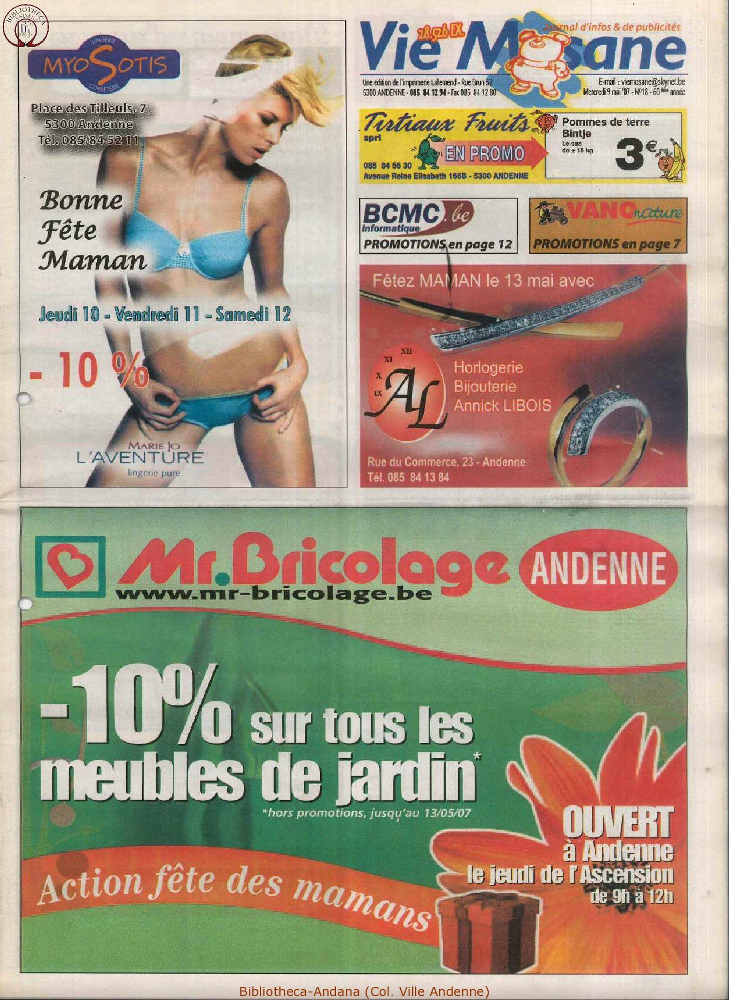 60e année - n°18 - 19 mai 2007