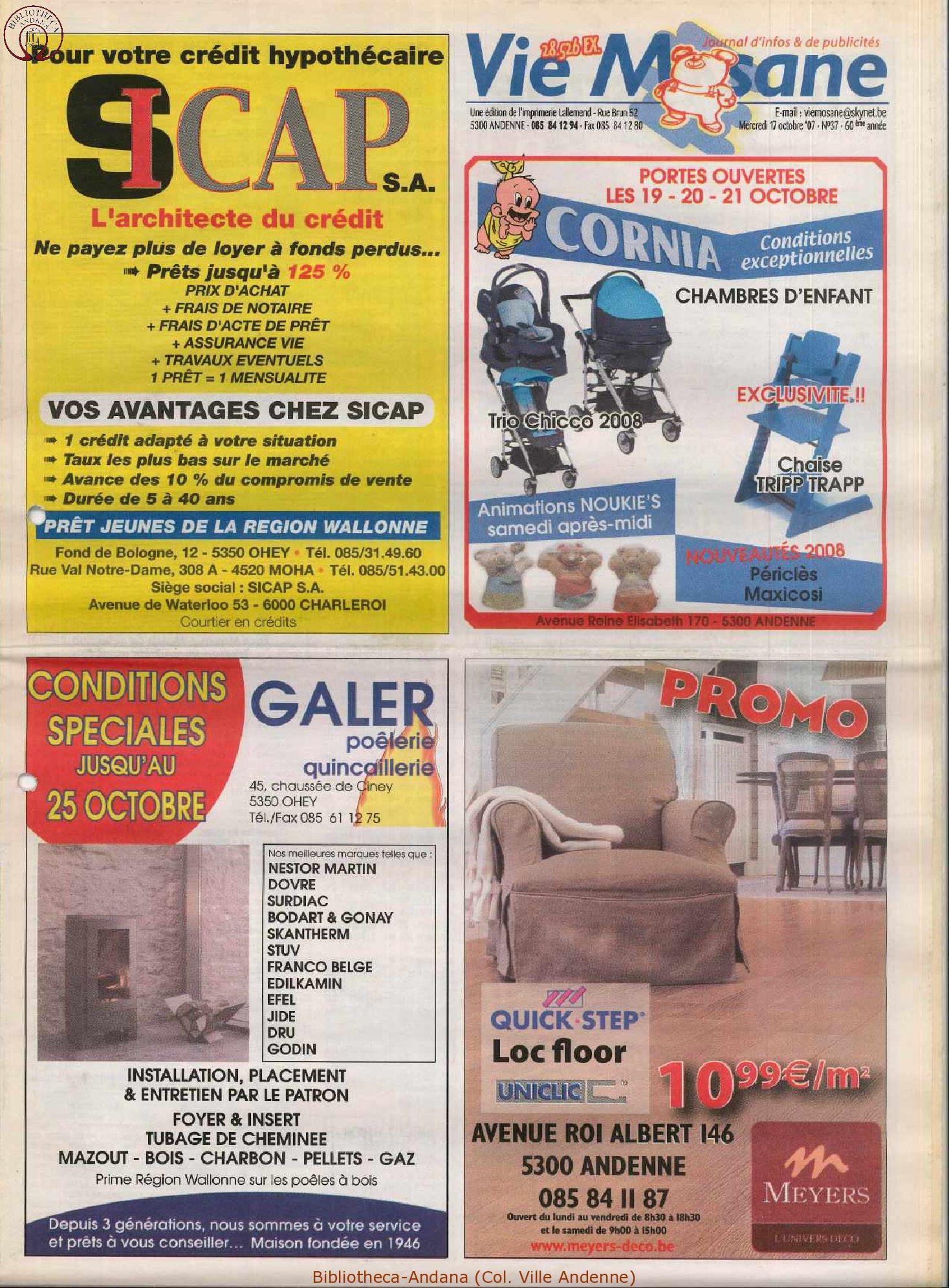 60e année - n°37 - 10 octobre 2007