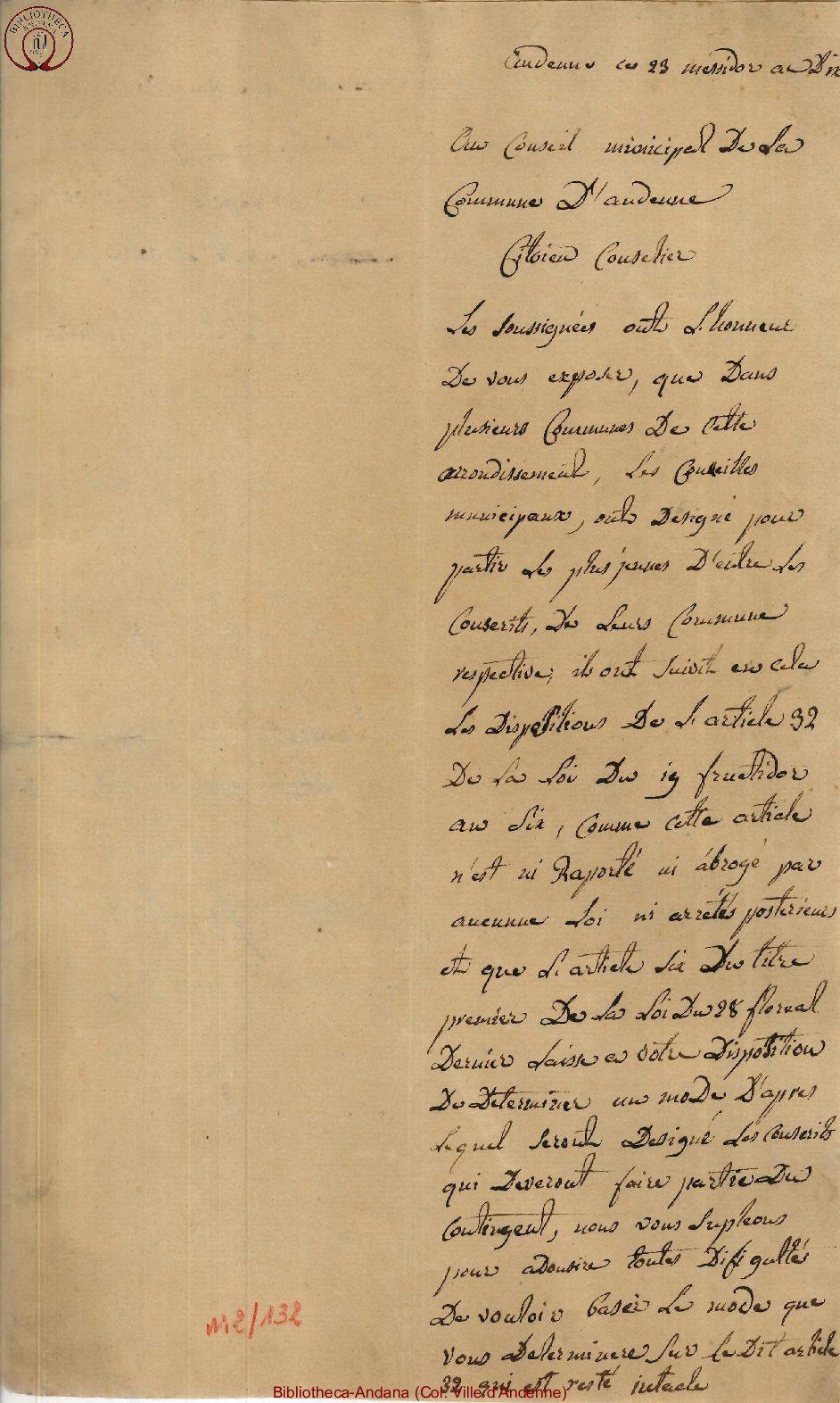 1804-07-18 (29 messidor an 12)
