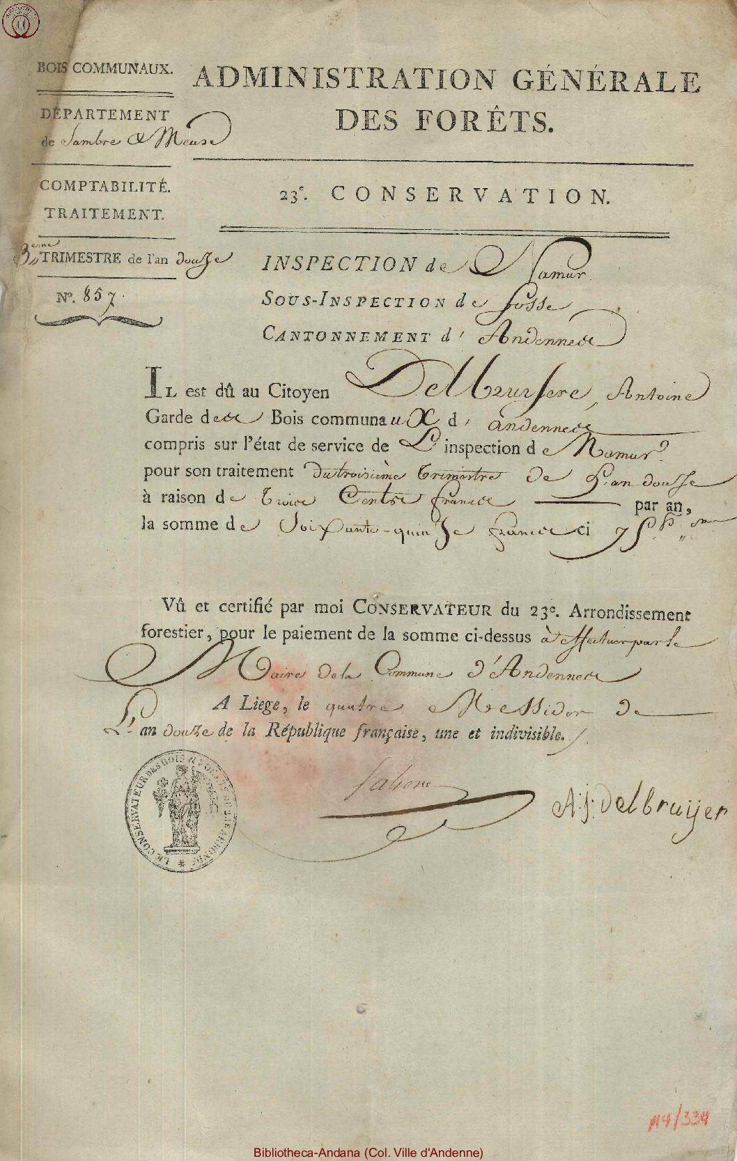 1804-06-23 (4 messidor an 12)