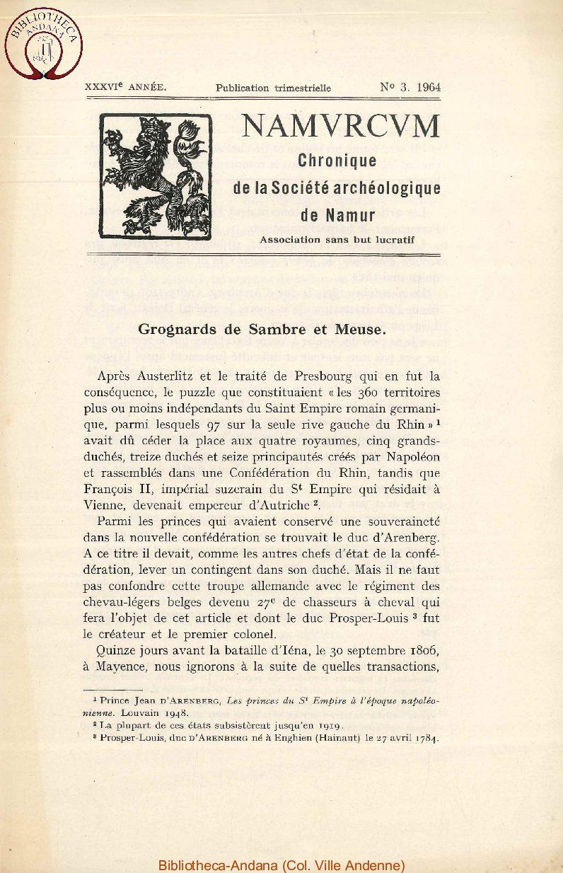 Grognards de Sambre et Meuse