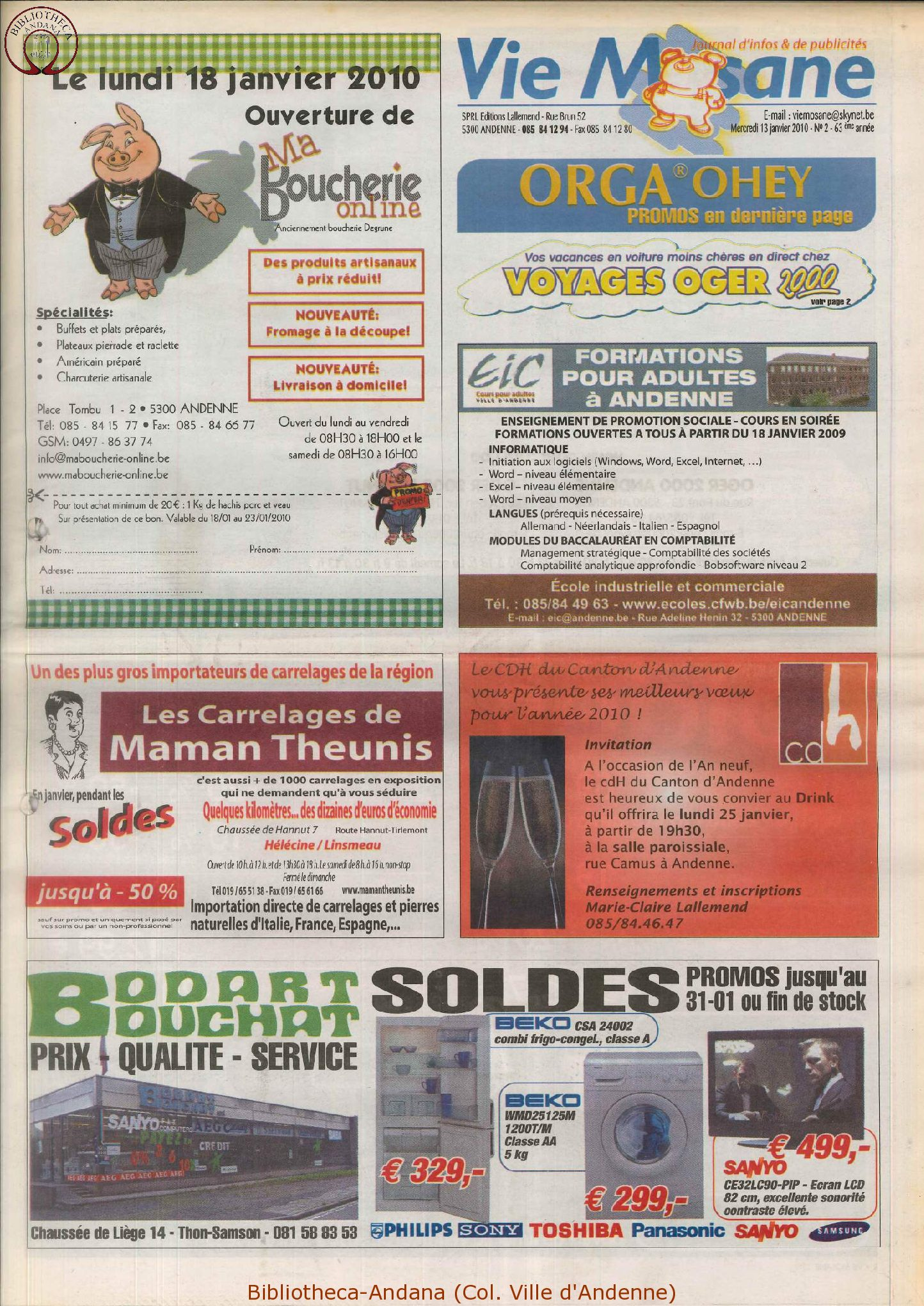 63e année - n°2 - 13 janvier 2010