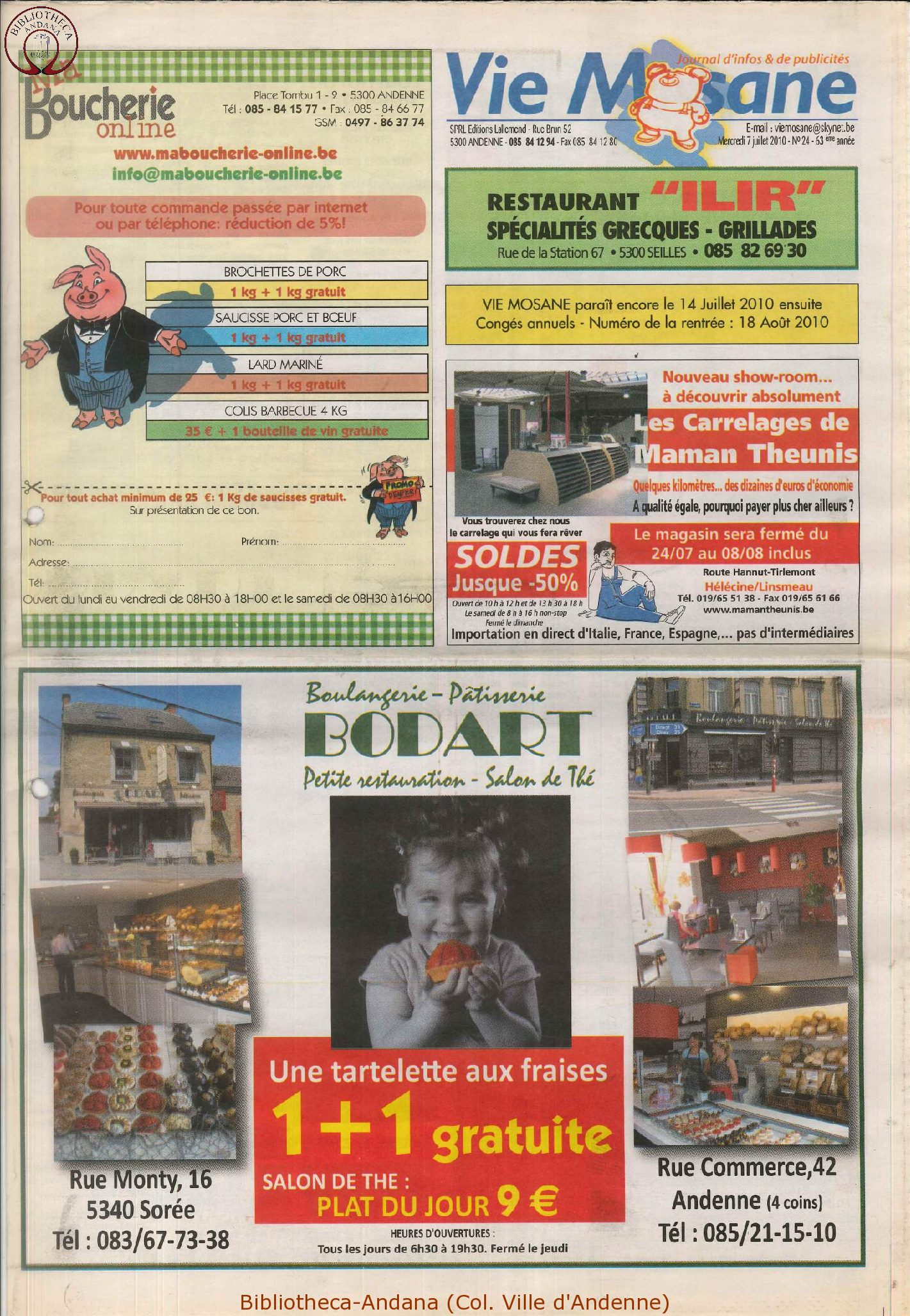 63e année - n°24 - 7 juillet 2010