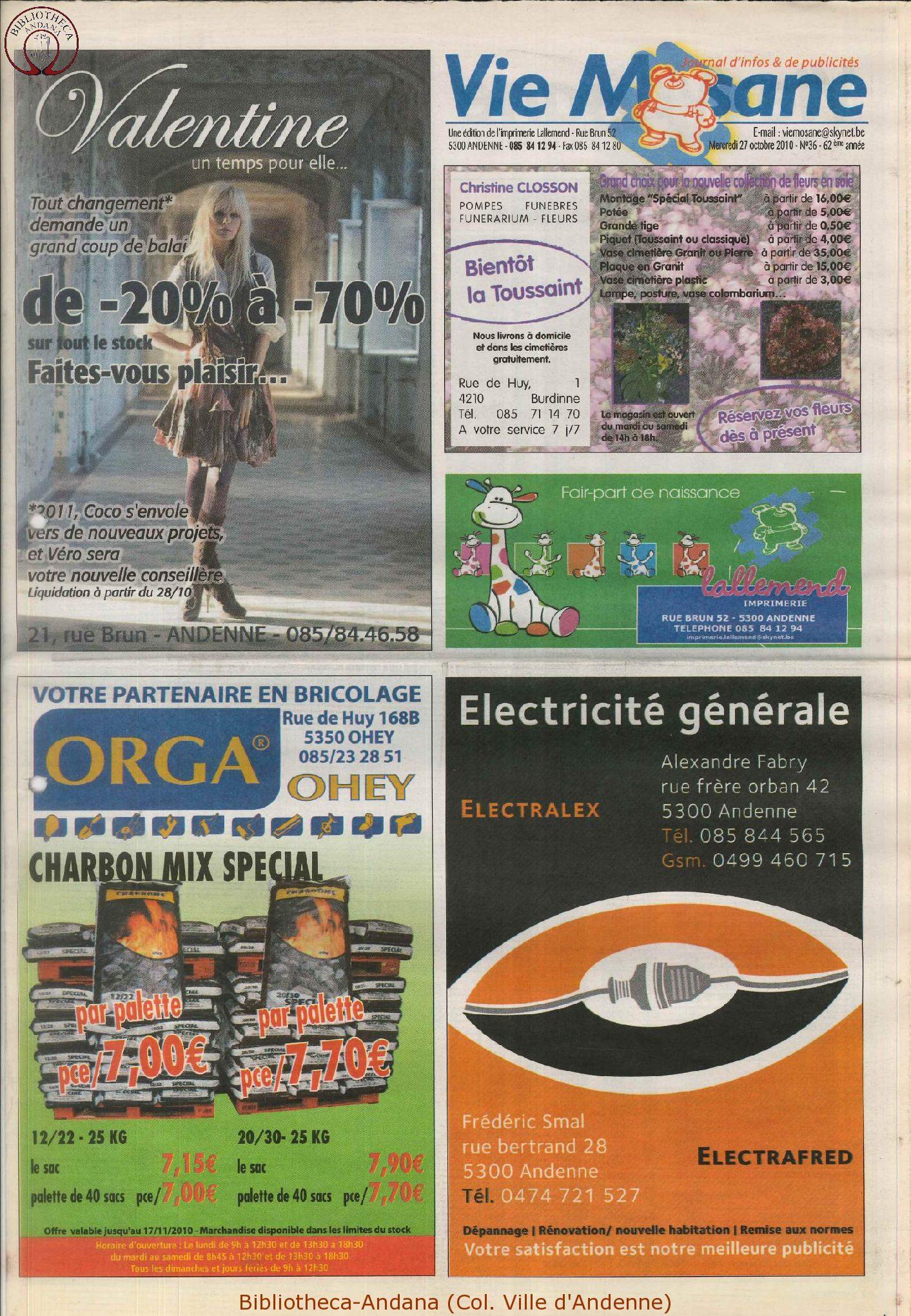 63e année - n°36 - 27 octobre 2010